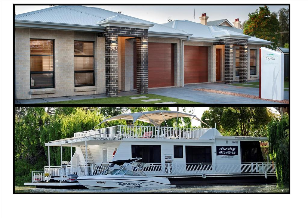 Renmark River Villas and Boats  Bedzzz - Accommodation in Bendigo